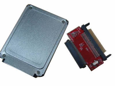 CF to toshiba 50-Pin Adapter + 1.8 inch case