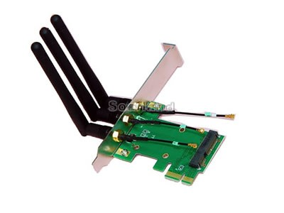 Mini-PCIe to PCIe Adapter
