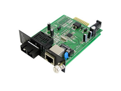 netLINK 10/100M Single-mode Fiber Optic Ethernet Media Convert Card