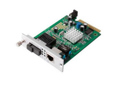netLINK Gigabit  Single-mode Fiber Optic Ethernet Media Convert Card