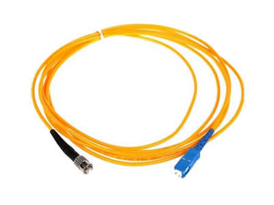 3m ST-SC Simplex Singlemode Fiber Optic Cable