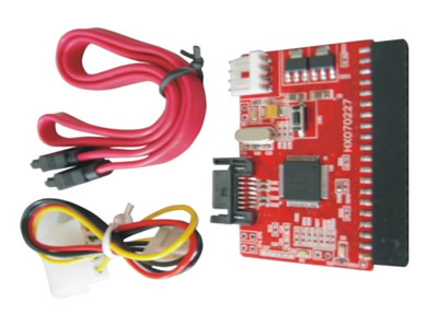SATA 7-PIN to Female IDE Adapter JM20330