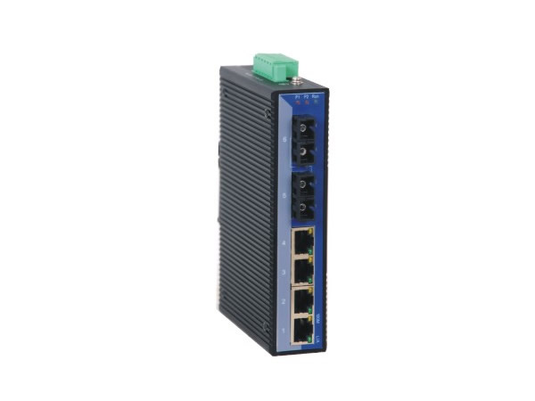 6 Port Din-rail 10/100Base Unmanaged Industrial Ethernet Switch