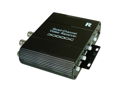 4 Channel Active UTP Video Balun Receiver