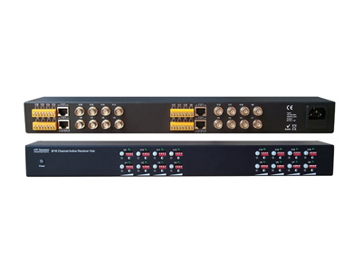 Rack-mountable 16 Channel Active UTP Video Balun Receiver