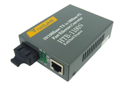 netLINK 10/100M Single-mode Fiber Optic Ethernet Media Converter